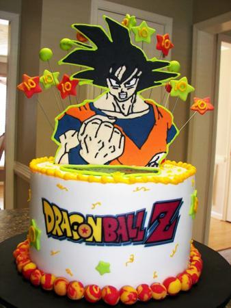 Torta de cumpleaños de Dragon Ball Z