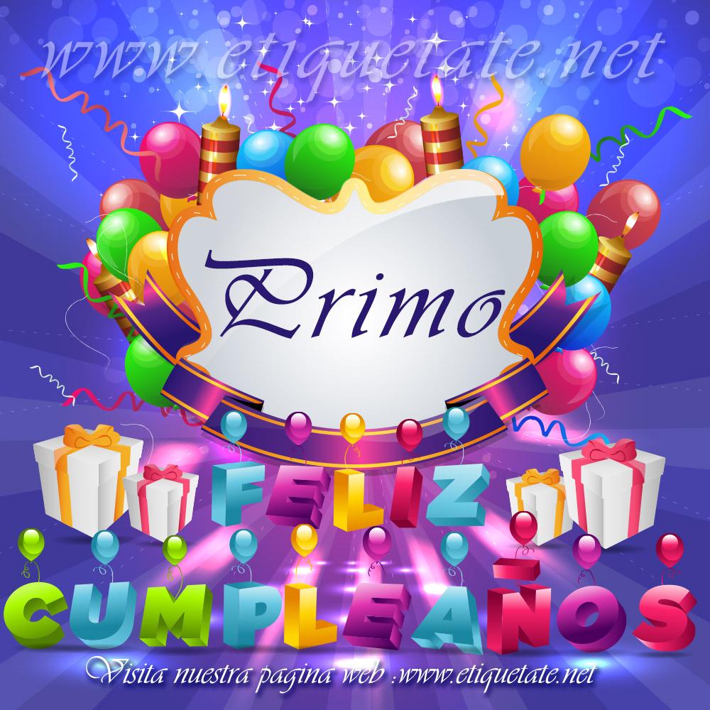 imagenes de cumpleaños para primo