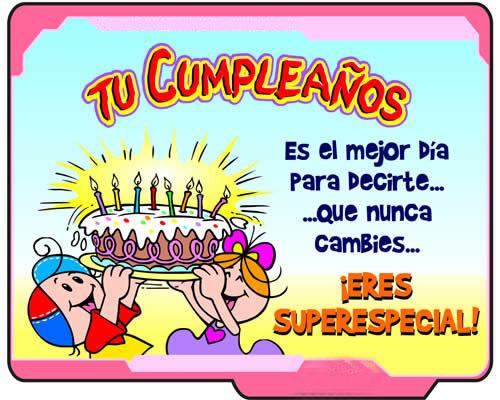 Frases De Cumpleaños Para Los Nietos Felicitaciones